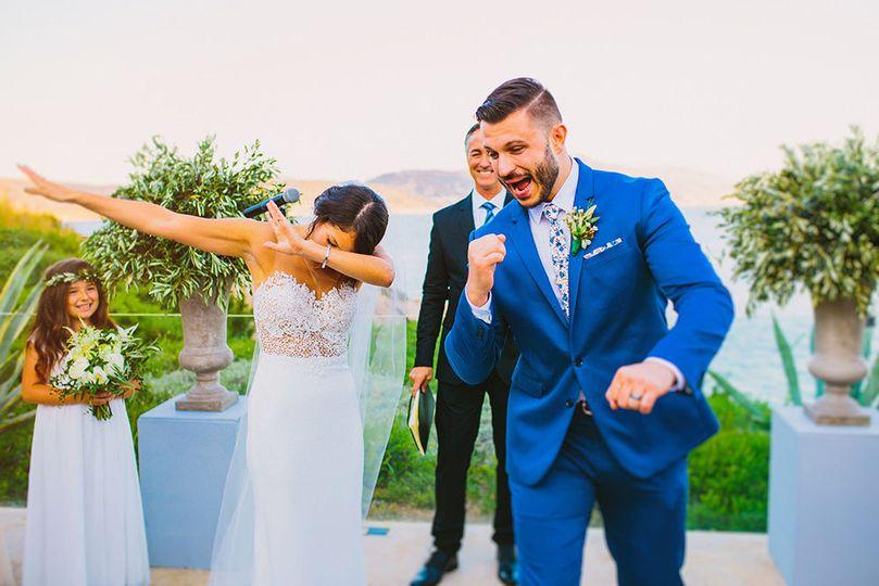 Wedding in Island Athens Riviera Venue