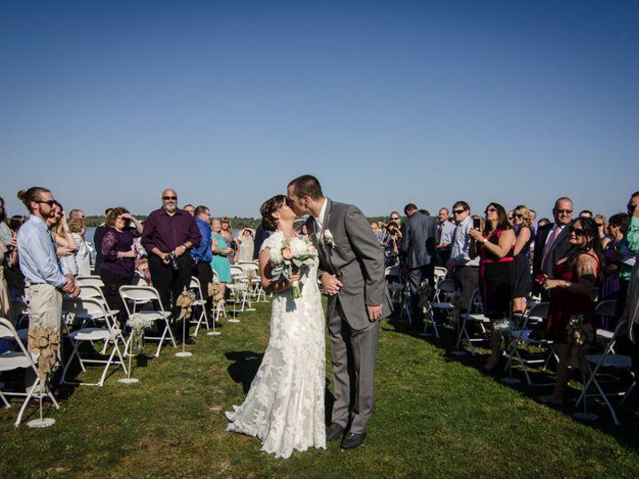 Tmx 1492633307486 Bh Peninsula Ceremony Couple Kissing Peru, NY wedding venue