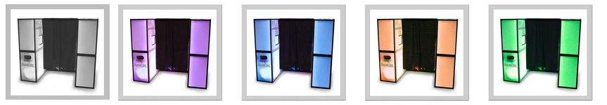 ppb led colored booths