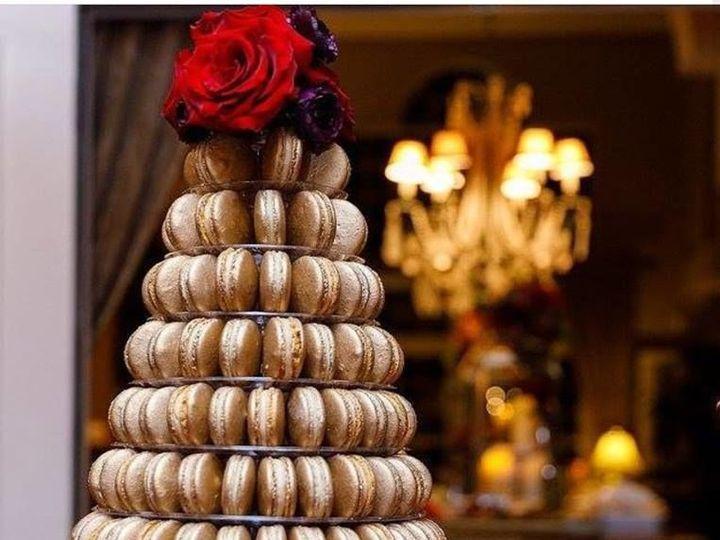 Tmx 1515600469 B94b49ad4d1e9900 1515600468 00e77833296155ff 1515600463778 2 Macaron Tower Lake Mary wedding favor