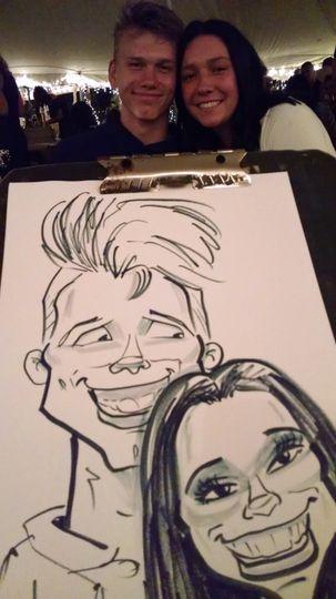 Humorous drawings