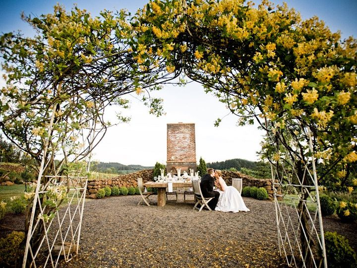 Tmx 1377126495904 White Elegant Wedding Domaine Margelle  Lauren Brooks Photography4 Portland wedding planner