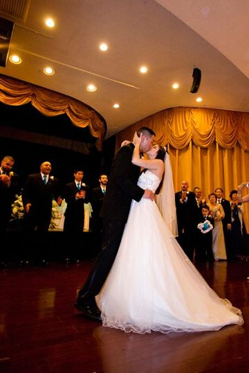 This intimate wedding was held indoors for a beautiful unforgettable evening. The bride and groom...