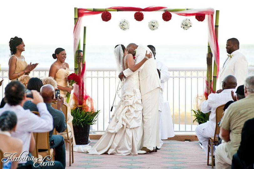 What more can you ask for from a  venue overlooking the ocean with a gathering of your closest...