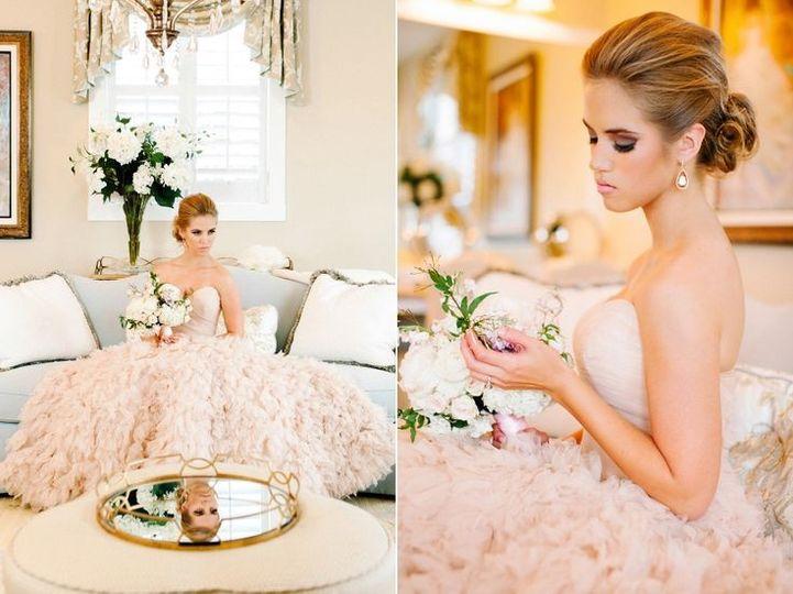 wedding planner shoot pink dress