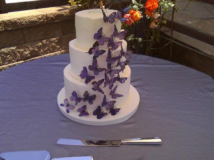 Tmx 1370489654787 Butterflies Penngrove wedding cake