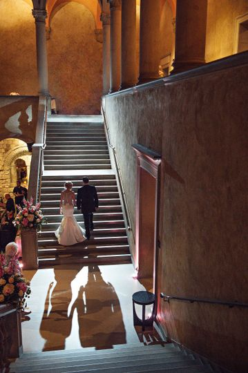Romance on the Grand Staircase