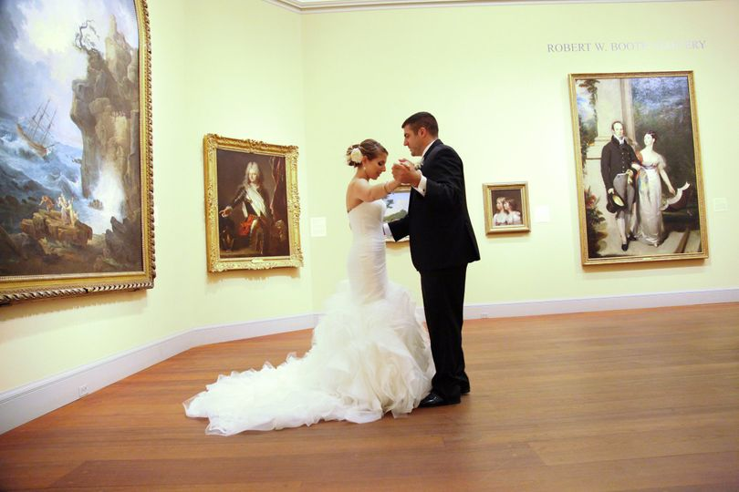 Dancing with the Masters in the European Painting Gallery