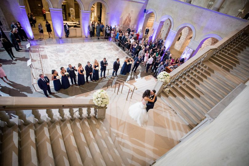 First Dance on the staircase landing