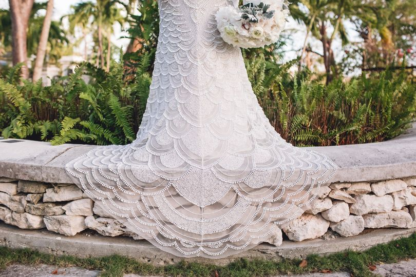 Lace details Dede Brown Wedding Photography