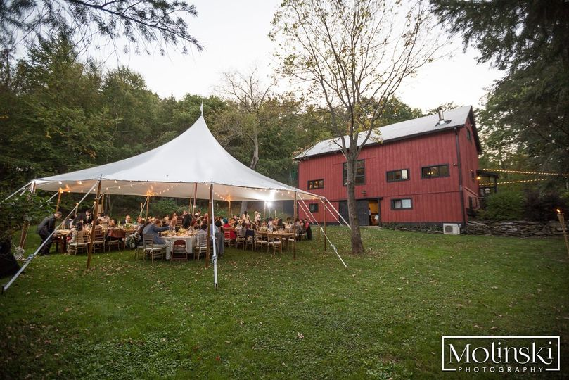 Tented Wedding at The Barn