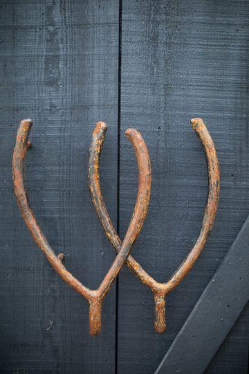 Wishbone handles