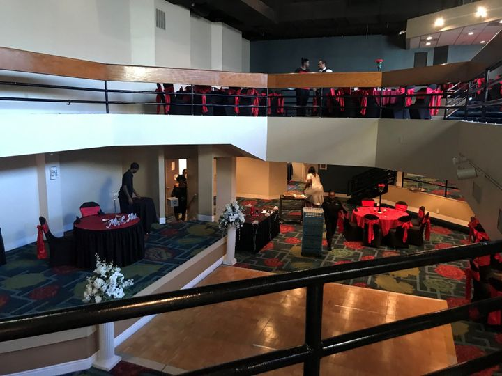 2 Level Gallery Ballroom