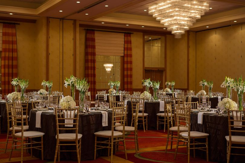 Woody Hayes grand ballroom setup