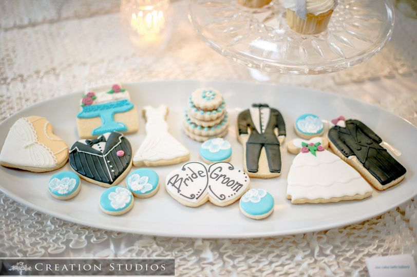 wedding cookies simply delicious caterings memphis