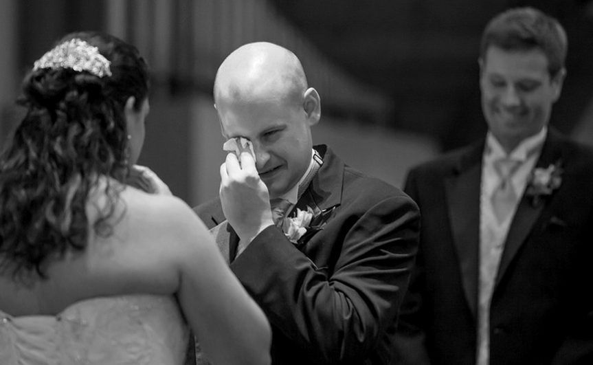 I love to capture the emotion of the groom. I find this image to be extra special because of the...
