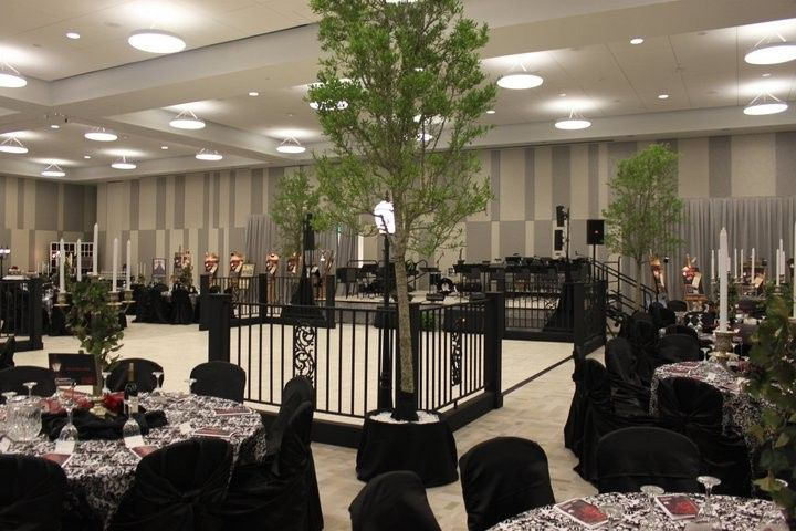 Wedding reception area