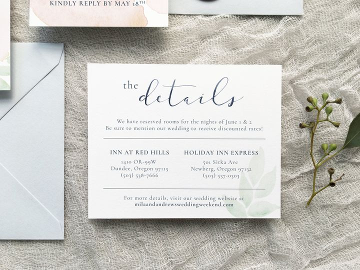 Tmx 1533412649 E4f1b3b0bdb0226a 1533412645 70b7c2018ee6b597 1533412642501 3 The Mila 5 Holly Springs wedding invitation