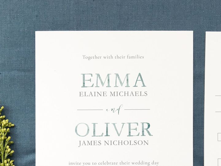 Tmx 1533412773 E872c86586a28657 1533412771 306e8e36858aa415 1533412768098 10 The Emma 3 Holly Springs wedding invitation