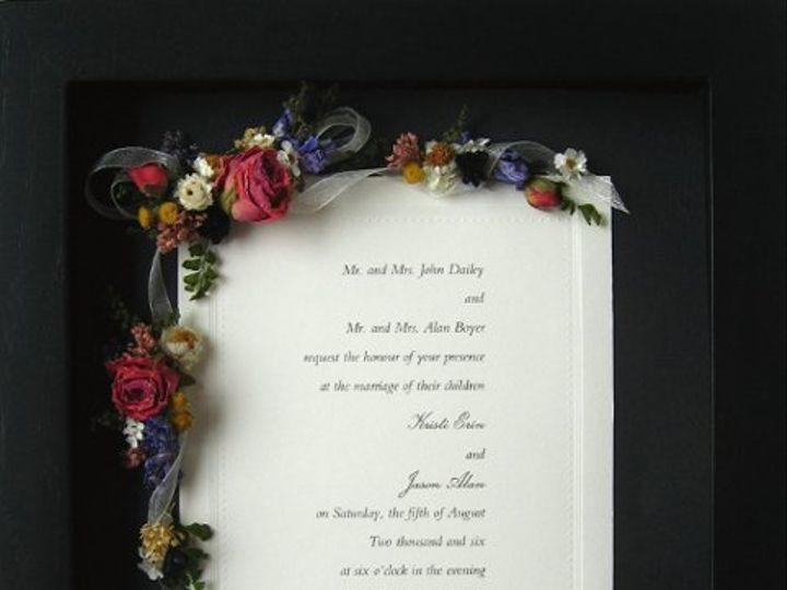 Tmx 1215825157594 Flower East Bridgewater wedding invitation