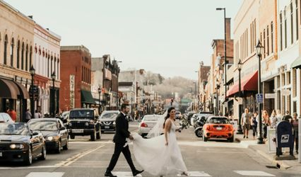 The wedding of Megan and Jeremy