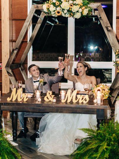 Bride & Groom The Lodge