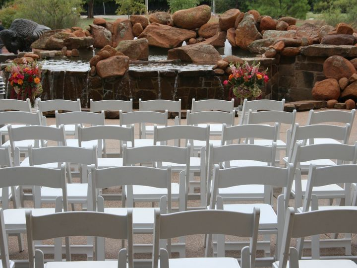 Tmx Ceremony With Rented Chairs 51 133868 1563983978 Oklahoma City, OK wedding venue