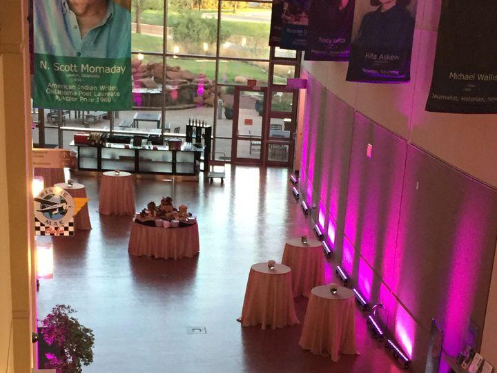 Tmx West Hall Reception Pink 51 133868 1563983999 Oklahoma City, OK wedding venue