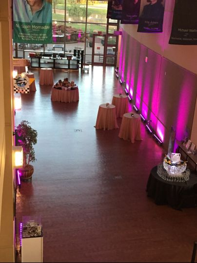 West Family Hall Reception