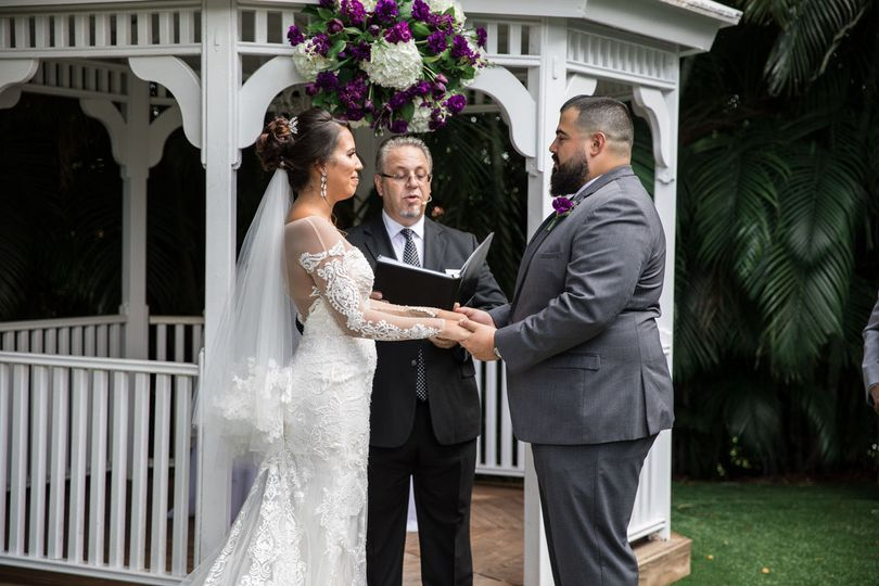 Gazebo wedding | Photo Credit: Chaple Photography