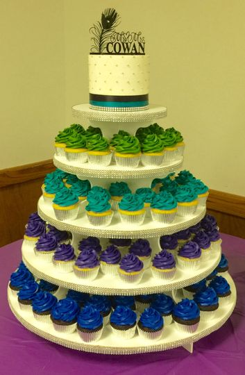 Cupcake Wedding Cakes Denver Co