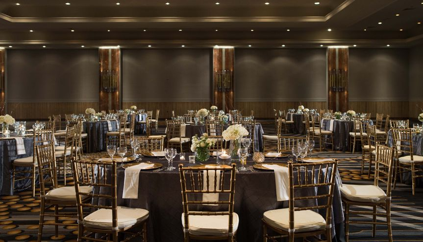 Stylish banquet hall