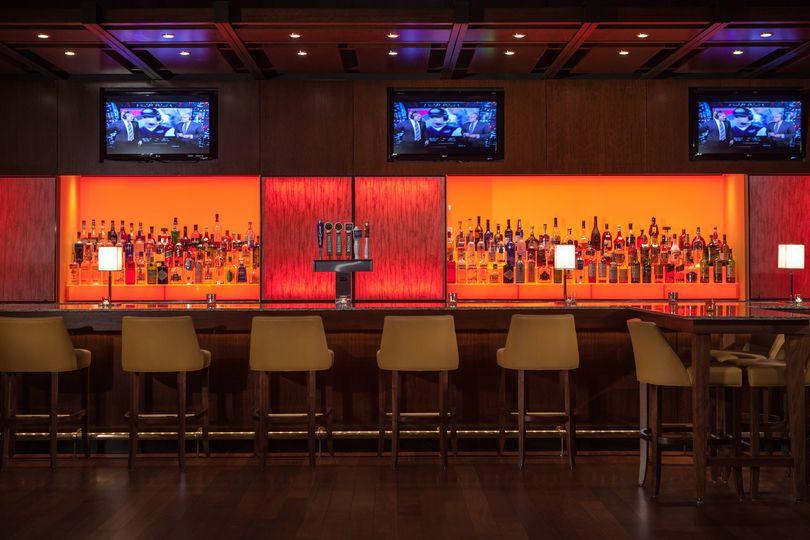 Charming bar area