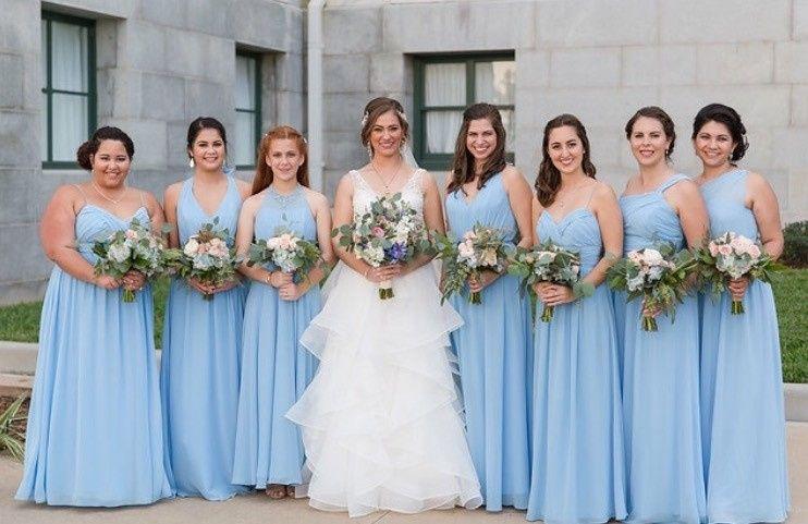 Bride and the bridesmaid
