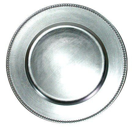 silverchargerplate