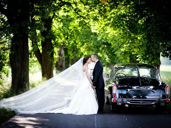 Tmx 1432046821846 Bigstock Bride And Groom In Car 49996160 Perry Hall, Maryland wedding transportation