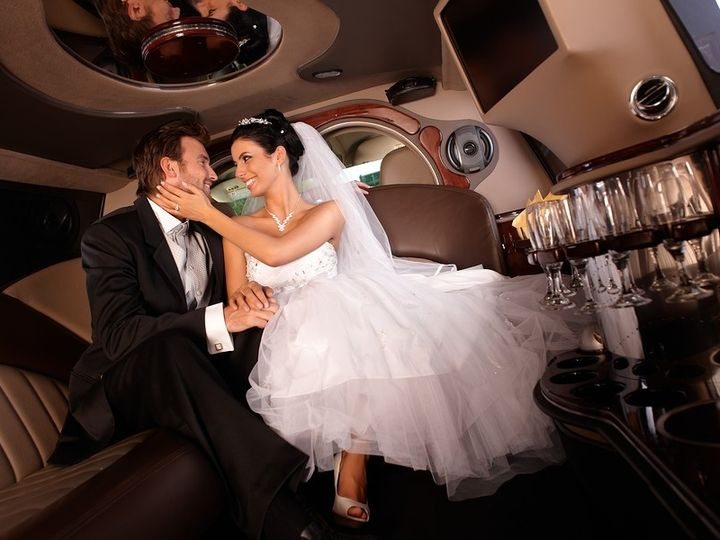 Tmx 1432046848327 Bigstock Happy Couple Embracing In Limo 41611168 Perry Hall, Maryland wedding transportation