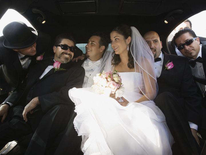 Tmx 1432046855950 Bigstock Hispanic Newlyweds And Family  73184998 Perry Hall, Maryland wedding transportation