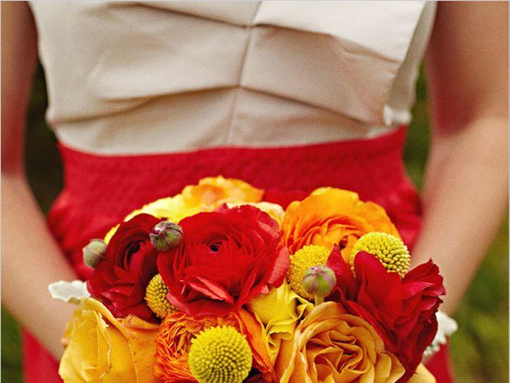 Tmx 1374766309581 Redyllowweddingbouquet Granbury wedding florist