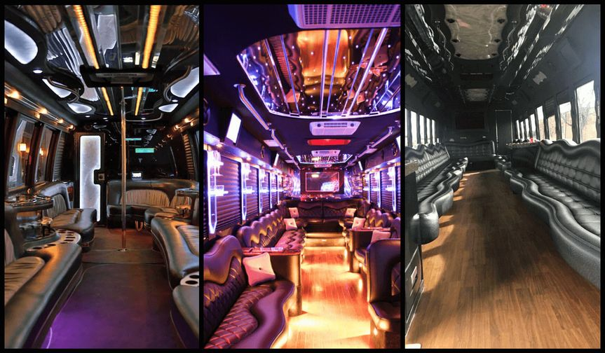 party bus with a bathroom