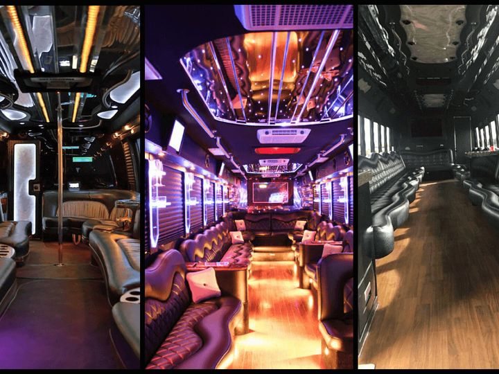 Tmx 1497304913822 Party Bus With Bathroom 1 Kansas City wedding transportation