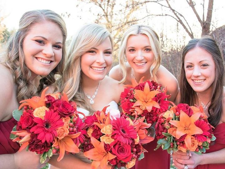 Tmx 1453499106093 Cassie And Bridesmaids Spokane wedding florist