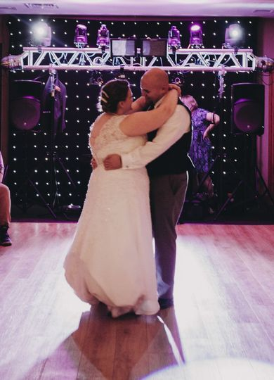 First dance | Photo credit to Donna Miller Photography