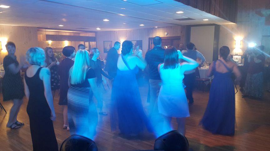 Lighting up the dance floor