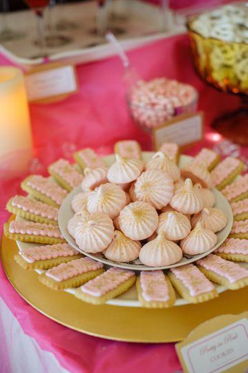 Dessert wafers