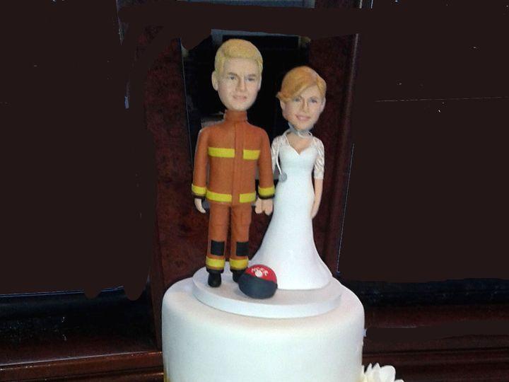Tmx 1459785896543 Goldwedding Tampa wedding cake