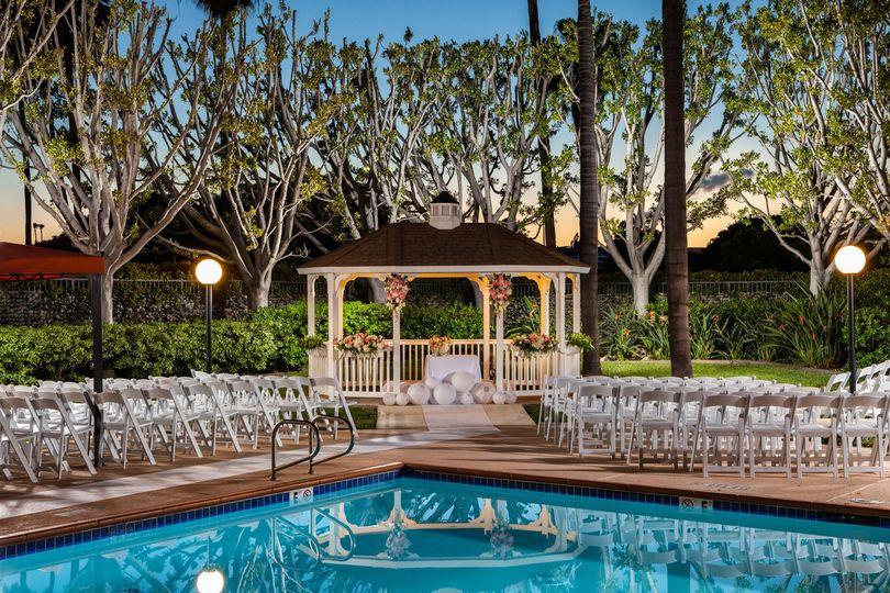 Wedding venue gazeboo
