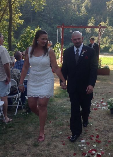 The Happy Couple: Shannon and Mike
