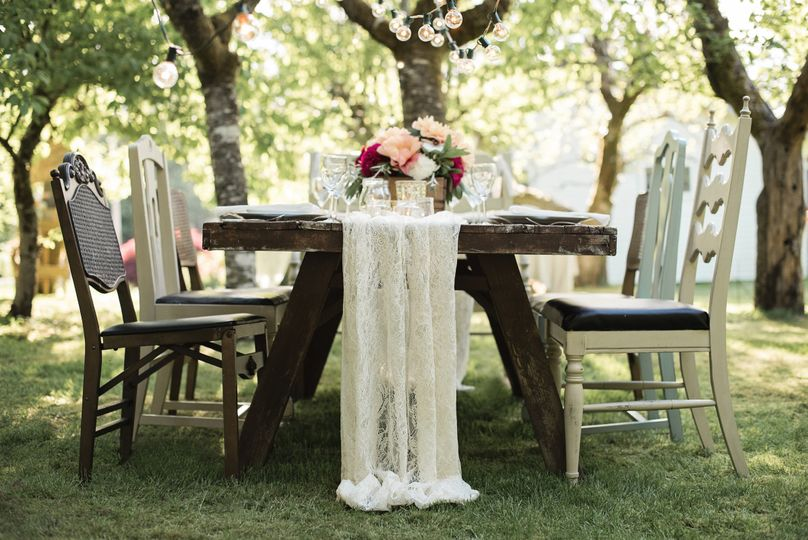 From Rustic Farm Tables to Sleek & Modern we love designing weddings that fit the Bride and Groom...