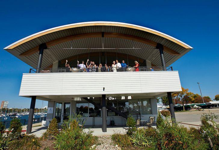 Exterior view of  Milwaukee Community Sailing Center